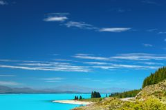 Lake Pukaki, New Zealand Stock Photography
