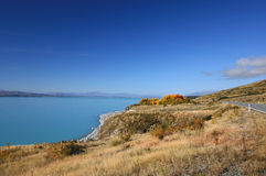 Lake Pukaki, New Zealand Royalty Free Stock Images