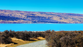 Lake Pukaki, New Zealand Royalty Free Stock Photos