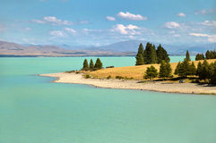 Lake Pukaki, New Zealand Stock Photos