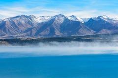 Lake Pukaki, New Zealand. Lake Pukaki in New Zealand South Island, South alpine Royalty Free Stock Images