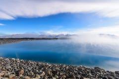 Lake Pukaki, New Zealand. Lake Pukaki in New Zealand South Island, South alpine Stock Image