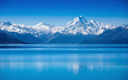 Lake Pukaki, South Island, New Zealand Stock Photography