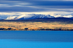 Lake Pukaki,South Island New Zealand. Stock Images