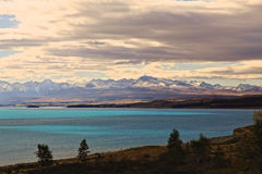Lake Pukaki,South Island New Zealand. Royalty Free Stock Photo