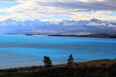 Lake Pukaki,South Island New Zealand. Royalty Free Stock Photography