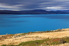 Lake Pukaki,South Island New Zealand. Stock Photos