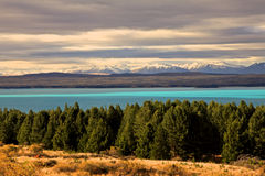 Lake Pukaki,South Island New Zealand. Royalty Free Stock Image