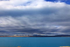 Lake Pukaki,South Island New Zealand. Stock Image