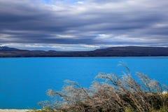 Lake Pukaki,South Island New Zealand. Stock Photo