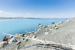 Lake Pukaki, South Island NZ Royalty Free Stock Images