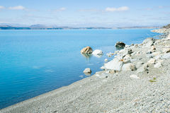 Lake Pukaki, South Island NZ Stock Photography