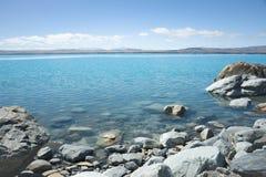 Lake Pukaki, South Island NZ Stock Image