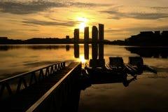 lake putrajaya Arkivfoto