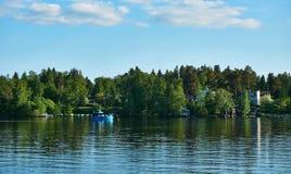 Lake Pyhajarvi, Finland Stock Images
