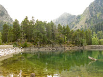 Lake in Pyrenees Royalty Free Stock Photography