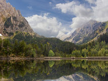 Lake in Pyrenees Royalty Free Stock Image