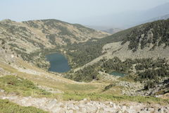 Lake in Pyrenees Royalty Free Stock Photos