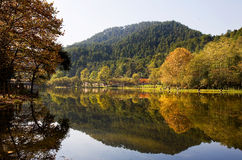 Lake Qianling in Autumn Royalty Free Stock Photo