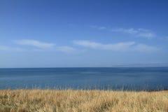 lake qinghai royaltyfri foto