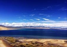 lake qinghai Arkivbild