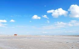 lake qinghai Στοκ Εικόνα