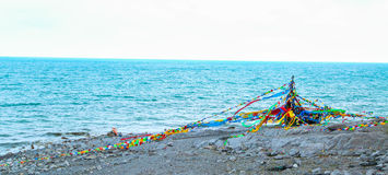 lake qinghai Στοκ Εικόνες