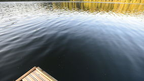 On the lake stock footage