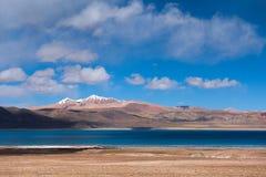 Lake Rakshastal: Travelling in Tibet Royalty Free Stock Images