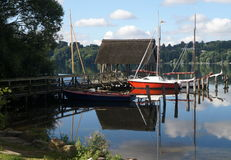 Lake Ratzeburg Royalty Free Stock Photo