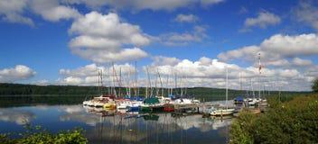 Lake Ratzeburg Royalty Free Stock Photography