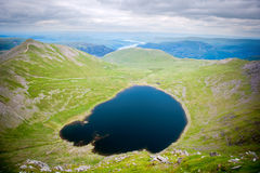 Lake Red Tarn in the Lake District National Park, UK Stock Photo