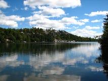 Lake reflection Royalty Free Stock Photography