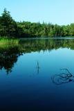 Lake reflection. (Shiretoko in Hokkaido Royalty Free Stock Photos