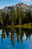 Lake reflection Stock Photo