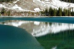 Lake reflection Royalty Free Stock Images