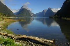 Lake reflection Royalty Free Stock Photo