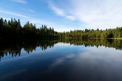 Lake and reflection Royalty Free Stock Photos