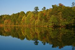 Lake Reflections royalty free stock photography
