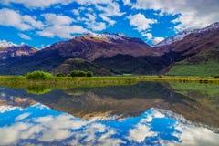 Lake Reflections Stock Image