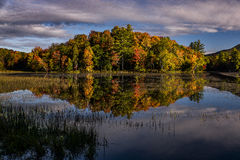 Lake Reflections - Colorful Trees - Autumn / Fall - Vermont Stock Photography
