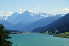 Lake Reschensee Royalty Free Stock Image