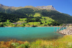 Lake Reschensee Stock Images