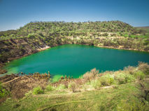 Lake reserve. Travel laguna big Royalty Free Stock Images