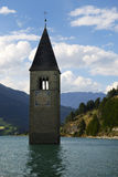 Lake Resia Royalty Free Stock Photo