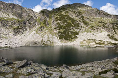 Lake in Rila Stock Photo
