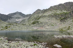 Lake in Rila mountain Royalty Free Stock Image