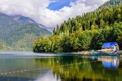 Free Lake Ritsa Royalty Free Stock Images - 69221939