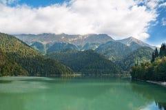 Lake Ritsa. Abkhazia. Stock Image