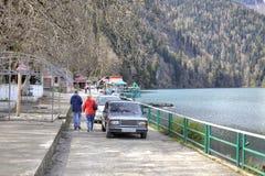 Lake Ritsa Royalty Free Stock Images
